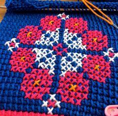 62 Beste Afbeeldingen Van Tunisch Haken Crochet Patterns Tunisian