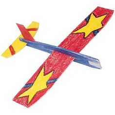 Larger image for Cloud Climbers Wooden Toy Airplane Craft Kit (makes 36)