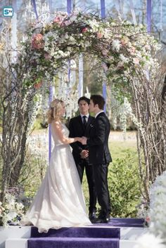 I want a wedding that looks like that. All the flowers and just natural beauty