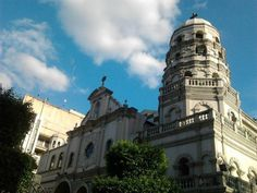 The Bindono Church in Manila, Philippines
