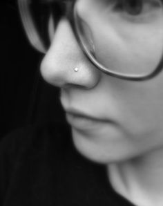 Fake Nose Piercing Stud Ring Magnetic body jewelry ear by KillerBB