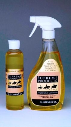 Supreme Products - Professional Horse Glistening Oil x 500 Ml A superior light grooming oil to add the final touch. Use to enhance and highlight your horses best points. Creates a superb shine especially under artificial lights. Co (Barcode EAN = 5053282273469) http://www.comparestoreprices.co.uk/december-2016-3/supreme-products--professional-horse-glistening-oil-x-500-ml.asp