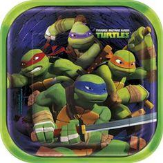 Teenage Mutant Ninja Turtles Dinner Plates - 9in (8 Pack)