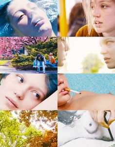 La vie dAdele. Blue is the warmest colour. 2013, France- mood board. watch this movie free here: http://realfreestreaming.com