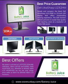 BRAND NEW DELL U2312HM WS LED LCD FP Monitor 3 Year Warranty U2312M U2311H  LATEST REVISION A05! REPLACE U2311H! 1920X1080! 1000:1!