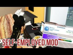 We can finally tell our friends we have a job if we own our own stores, restaurants or Vet clinics. I'm showing you the Self-Employment Caree. The Sims, Sims Cc, Sims 4 Gameplay, Sims 4 Toddler, Self Employment, Vet Clinics, Sims 4 Mods, Video Game, Career
