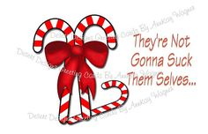 Adult Christmas Humor They're  Not Gonna To by AnnKayGreetingCards, $5.50
