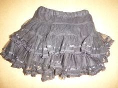 Girls-name-it-Tutu-2-3-years-Black-with-sparkles