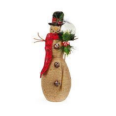 Woodland Wonder Jute Rope Snowmen at Big Lots. TOO CUTE! #BigLots