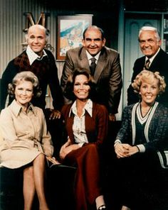 "The Mary Tyler Moore show aired from Sep, 1970 to March, 1977. Gavin McCloud went on to become Captain Stubing on ""The Love Boat."" Betty White is 90 and still kicking it in TV."
