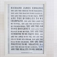 A Declaration Personalized Print