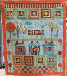 The flower farm quilt
