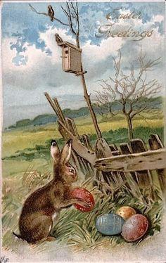 Vintage Easter Card