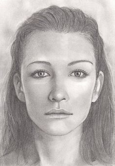photo instead here is a standard female face i ve drawn from scratch ...