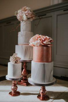 Belle The Magazine — Wedding Trends : Marble Wedding Cakes