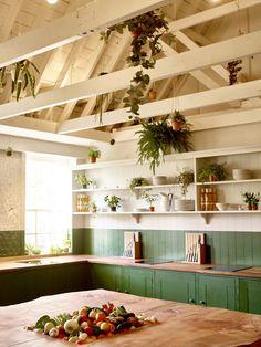 ATELIER RUE VERTE , le blog: Londres / Une école de cuisine ... verte /