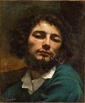 Autoportrait dit Le Fumeur de pipe, 1848-1849, Musée Fabre, Montpellier.
