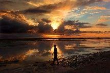 Sunset at Gili Trawangan, Lombok, Indonesia