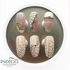 #nailart #naildesign #weddingnail #elegantnail #romanticnail #rosenail #pinknail