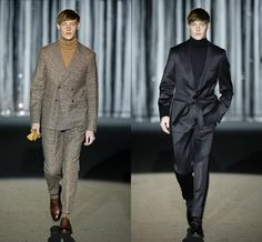 Beautiful suits of Roberto Verino. The left one for a workday and the black one for a saturday night. Cool spanish fashion