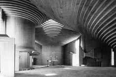 paolo portoghesi e vittorio gigliotti - church of the holy family, salerno, italy, 1969-73
