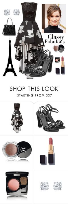 """""""100% Elegance"""" by kotnourka ❤ liked on Polyvore featuring Christian Pellizzari, Fendi, Chanel and MICHAEL Michael Kors"""