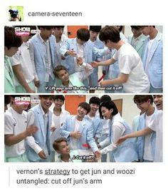 Lol at Jun's reactions