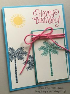 Totally Trees by StampinJaimie5 - Cards and Paper Crafts at Splitcoaststampers