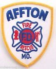 AFFTON, MISSOURI FIRE RESCUE SHOULDER PATCH - AFFTON, Missouri Fire Dept Patch