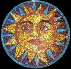 italian sun tile   Art Commissions and Projects