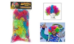 Circus afro wig for Madagascar 3