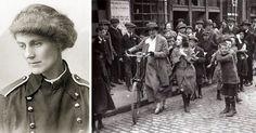 Constance Markievicz: Η «κόκκινη» κόμισσα     Η ιρλανδο-βρετανή κόμισσα μπορεί να γεννήθηκε μέσα στην πολυτέλεια της αριστοκρατίας, ανέπτυξε ωστόσο κοινωνική συνείδηση ήδη από νεαρή ηλικία. Ήταν το 1908 όταν άρχισε να ανακατεύεται με το πατριωτικό κίνημα της Ιρλανδίας και σύντομα το έκανε δική της υπόθεση. Ο διαχρονικός της στόχος ήταν η μάχη για την ελευθερία, η ανεξαρτησία της Ιρλανδίας και τα δικαιώματα των γυναικών φυσικά. Σοσιαλίστρια, σουφραζέτα και με άσβεστο τον πόθο για ανεξάρτητη…