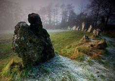 The Rollright Stones by AngelaJayneBarnett, via Flickr