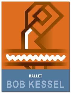 BALLET POSTER (Pirouette) by contemporary artist bobkessel