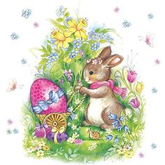 Easter Bunny Cake, Chocolate Easter Bunny, Easter Art, Easter Crafts, Ostern Wallpaper, Easter Bunny Pictures, Easter Illustration, Coquille Saint Jacques, Diy Ostern