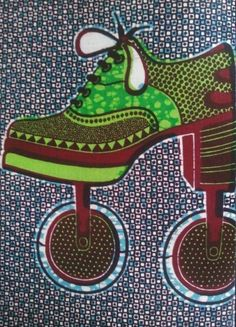Vlisco prints on The Source at For the Makers
