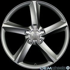 "18"" SATIN GUNMETAL WHEELS FITS AUDI VW A4 S4 A5 S5 A6 S6 A8 S8 Q5 CC PASSAT RIMS | eBay"