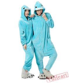 13867e1a491 Blue Bucktooth Monster Kigurumi Onesies Pajamas Costumes for Women  amp  Men  Couples Onesies