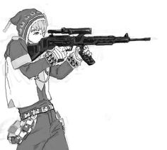 Adventures at the shooting range......take it easy with that thing D-: