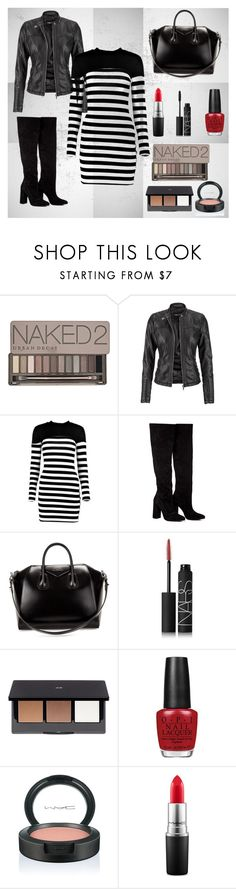"""""""Date Night"""" by tori-carter ❤ liked on Polyvore featuring Urban Decay, maurices, Boohoo, Anouki, Givenchy, NARS Cosmetics, H&M, OPI, MAC Cosmetics and DateNight"""