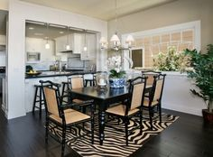 Oceanfront - traditional - dining room - orange county - Premier Home Staging and Interiors, LLC