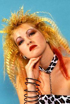 1980s Rock Idol #CELEBRITY Unisex Negro O Rubia Peluca Para Disfraz Accesorio