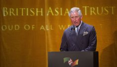 Prince Charles attends the British Asian Trust reception at Victoria & Albert Museum on 5 February 2014 in London, England
