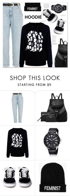 """""""hoodie"""" by mycherryblossom ❤ liked on Polyvore featuring River Island and Boohoo"""