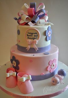 Purple or Lavendar Baby Shower