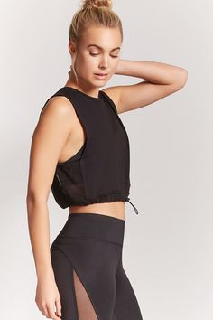 Product Name:Active Mesh Panel Top, Category:Activewear, Price:9.9