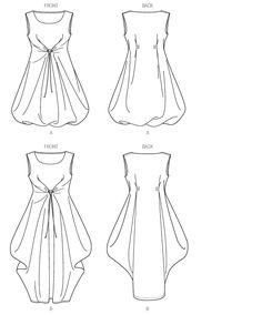 V1410 Misses' Dress | Easy