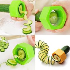 Latest arrival on our store: Smart Creative Sp.... See it here Now! http://www.yogamarkets.com/products/smart-creative-spiral-slicer-cucumber-melon-salad-kitchen-tool-random-color?utm_campaign=social_autopilot&utm_source=pin&utm_medium=pin