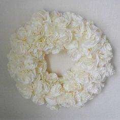 #kranssi #valkoinen #ruusuke