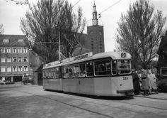 Langegeer Tuindorp Vreewijk Rotterdam 1957. Foto: ROVM.